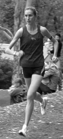Anna Thompson strides out in 2006